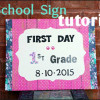 1st Grade Sign 2015 Graphic Post 1 E1473184595967
