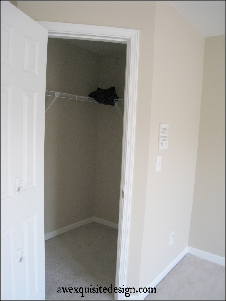 Walk-In Closet Of Son's Room