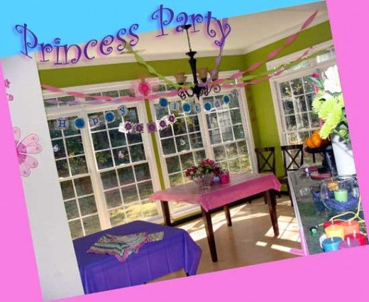 A Fairy Tale Princess Party