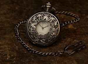 Jeweled Pocket Watch