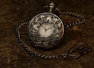 Jeweled Pocket Watch