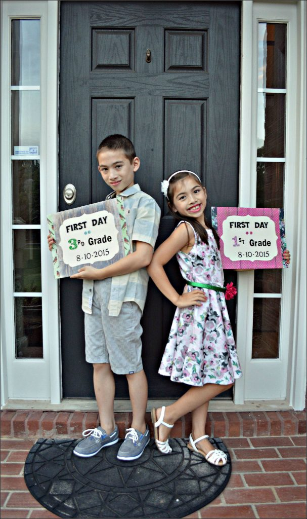 Kids w1stday School Signs 2015 #3
