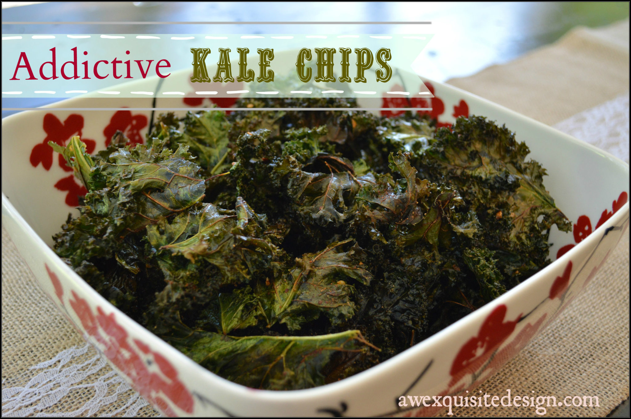 Addictive Kale Chips